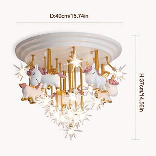 Stunning Unicorn Central Ceiling Light