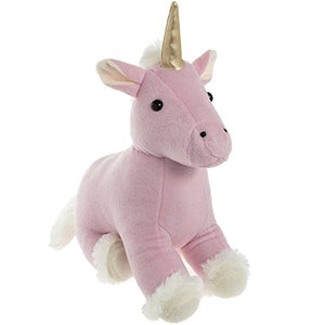 Lesser & Pavey Cute Unicorn Doorstop In Pink, One Size