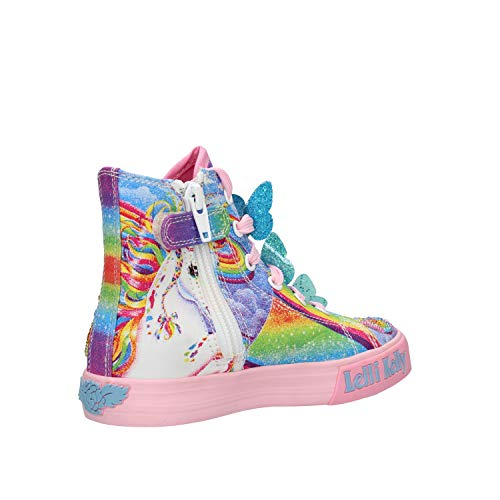 Lelli Kelly Unicorn rainbow butterfly trainer