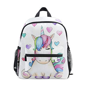 Sleepy Unicorn backpack pastel colours