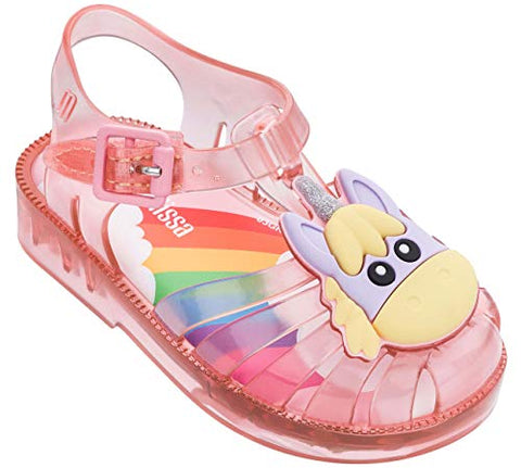 Pink Jelly Shoes Unicorn Girls