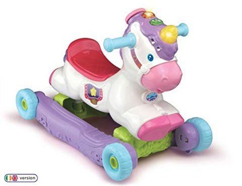 VTech Rock and Ride Unicorn Baby Ride On Toy