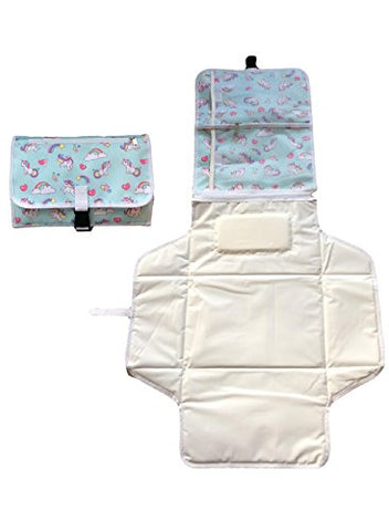 unicorn baby mat changing bag