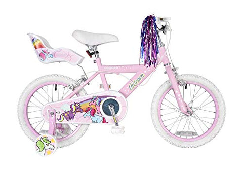 "Concept Unicorn 16"" Wheel Girls Bicycle 