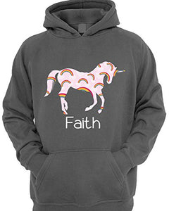 unicorn hoody grey