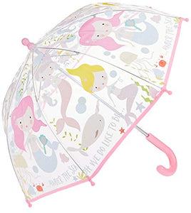 Mermaid Colour Changing Umbrella | Kids - Girls