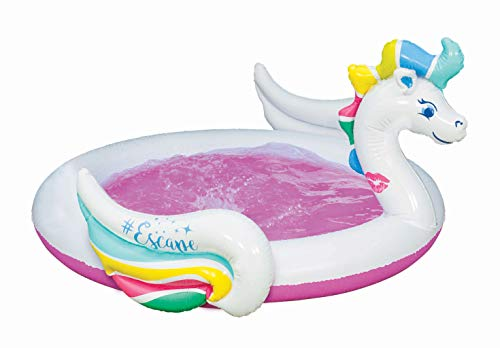 unicorn paddling pool for toddler