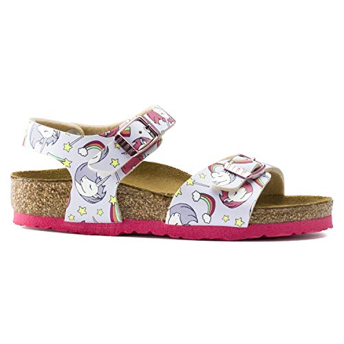 Unicorn girls Birkenstock summer sandals