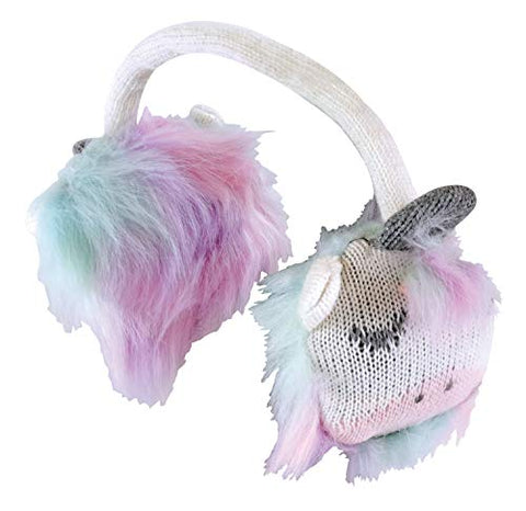 Multicoloured Unicorn Winter Ear Muffs