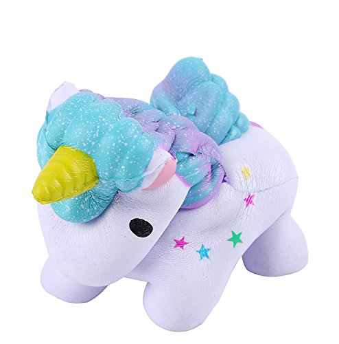 Unicorn Squishy Jumbo, Kawaii Slow Rising Squeeze Toy