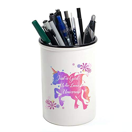 Just A Girl Who Loves Unicorn | Pen Pot Holder