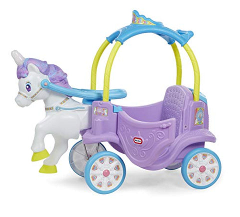 Little Tikes Magical Unicorn Ride On With Carriage