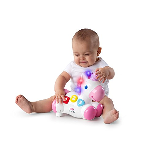 Bright Starts Rock and Glow Unicorn Toy