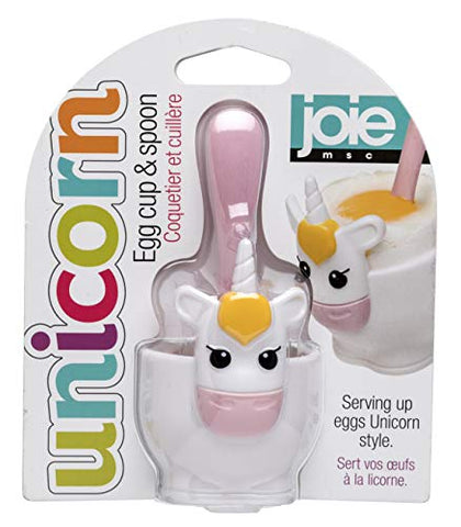 Unicorn Egg Cup And Spoon | Joie Kitchen Gadgets
