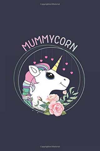 Mummycorn Notebook | Unicorn Mother's Day | Blank Lined Journal