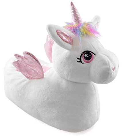 Matching Children's & Adult Unicorn Slippers | Novelty Gift
