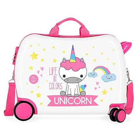 Little Me Unicorn Ride-on Suitcase |Rolling Suitcase | Luggage