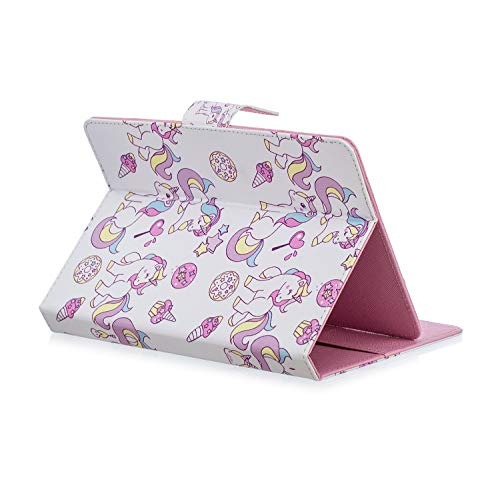 "Cute Unicorn 8"" Tablet Cover Case"