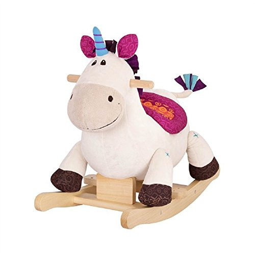 Unicorn Wooden Rocker for Children