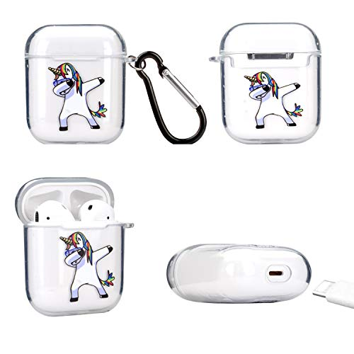 Ultra Slim Fit Case For Apple Airpods | Dabbing Unicorn