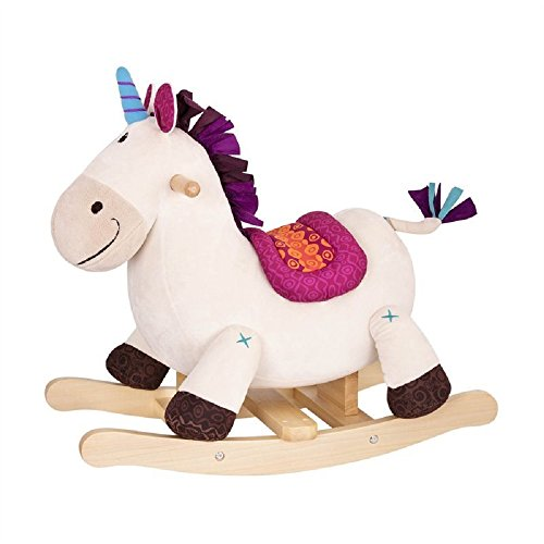 Wooden Unicorn Rocker Toddlers