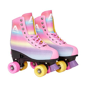 Apollo Disco Roller Skates | Rainbow Unicorn Style | Kids, Teens, Adults