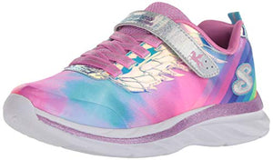 Unicorn Wings Pink blue girls shoes