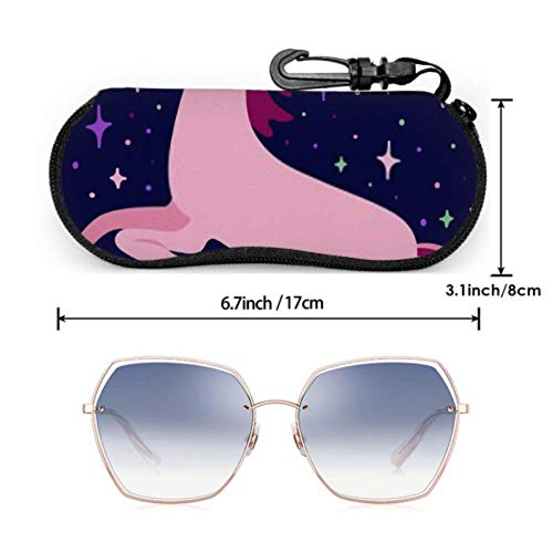 Unicorn sunglasses case
