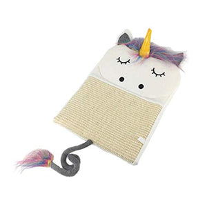 Unicorn Design Cat Scratch Pad | Resting Mat For Cats & Kittens
