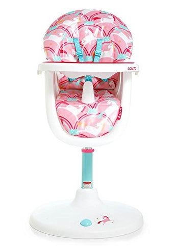 Cosatto 3 sixti rotating unicorn highchair - deluxe