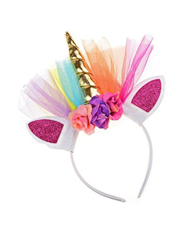 Unicorn Headband Fancy Dress Costume