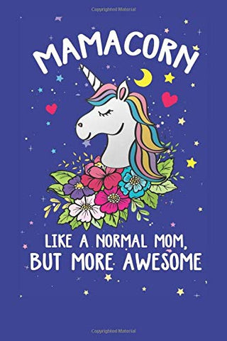 Mamacorn | Unicorn Notebook | Gift Idea | Mothers Day