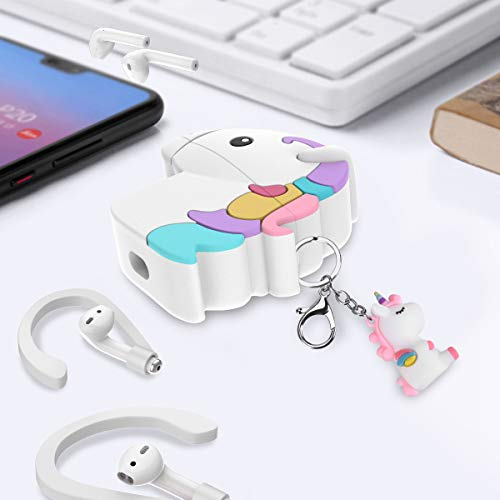 Silicone Unicorn AirPod Case Cover