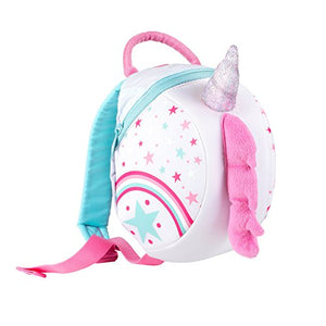 Unicorn with Silver Horn mini backpack