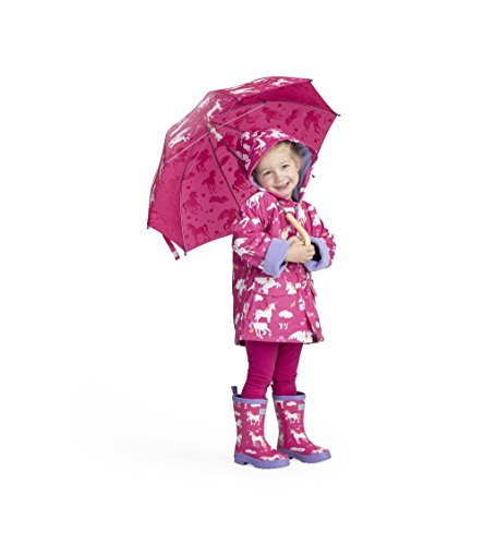 Cute unicorn waterproof coat for kids