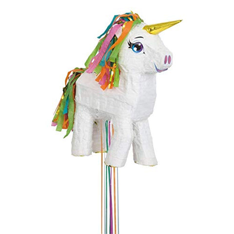 Unicorn Pull Pinata |  Multi-Colour | Party Decoration