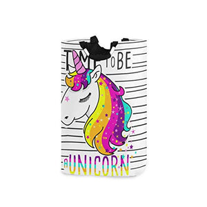 Bright and Colourful Storage Organiser Unicorn Design