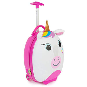 Unicorn Travel Suitcase With Wheels Pull Along