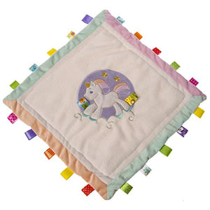 Unicorn Taggies Security Blanket