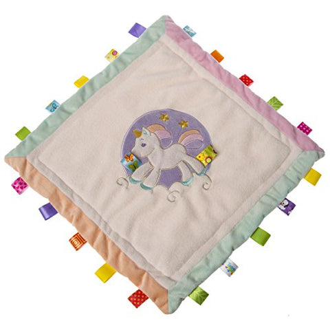 Unicorn Taggies Security Blanket | Baby Gift