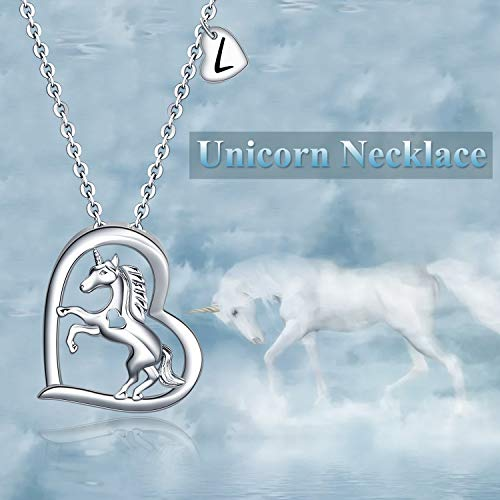 Unicorn Necklace | Mothers Day Gift | Sterling Silver