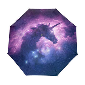 Magical Unicorn Universe Umbrella | Purple