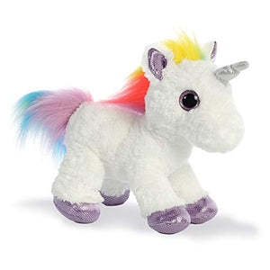 Dazzle The Unicorn | 12 Inch Soft Toy | Multi-Coloured | Aurora