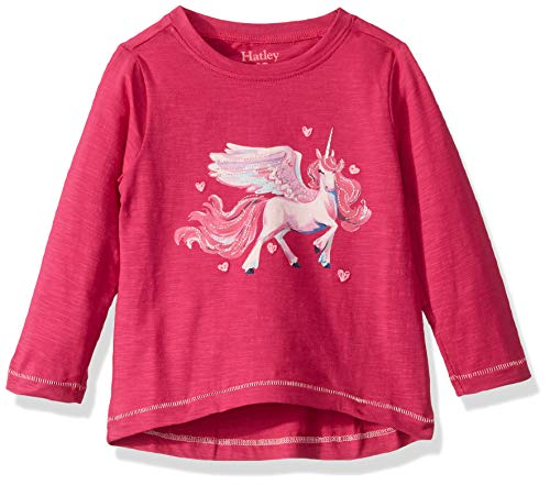 long sleeve unicorn top pink