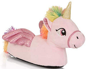 Pink Flying Unicorn Slipper - Ladies, Women, UK Sizes Various