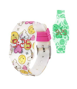 Unicorn Themed Digital LED Watch for Girls, Boys, Kids | Soft Silicone