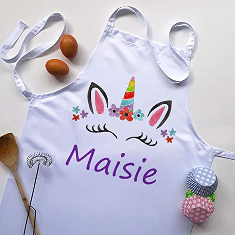 Kids Personalised Unicorn Apron | Gift Idea