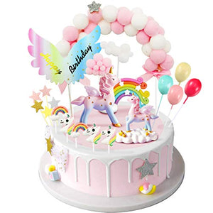 Unicorn Cake Topper, Birthday Cakes, Cake Decoration