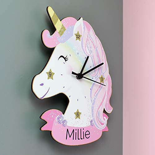 Unicorn Shaped Wall Clock