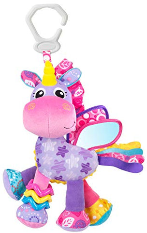 Unicorn Sensory Baby Pram Toy, From 0 months (Pink/Purple)